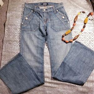 Rock & Republic flare leg Jeans sz 28 (J1)